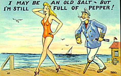 I may be an Old Salt, but I am still full of pepper - Hilarious sailing cartoons by Vic Wind App